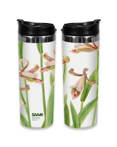 Orchids Travel Mug