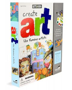 Create Art Like Famous Artists | Kit for Kids