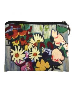 Johnson Flowers Coin Purse