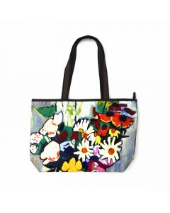 Johnson Flowers Tote Bag