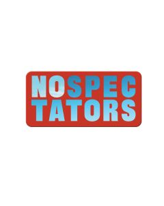 No Spectators Magnet