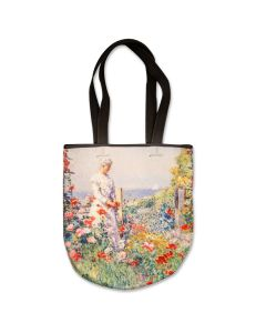 Floral Impressionism Neoprene Tote
