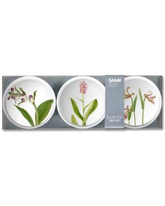 Orchids 4'' Trinket Tray Set