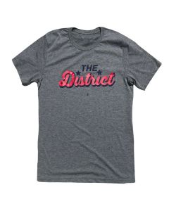 Adult ''The District'' Tee
