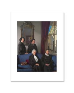 The Four Justices Matted Print