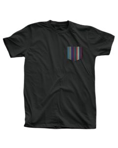 Adult Gene Davis Pocket Tee