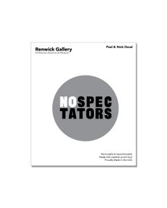 No Spectators Decal