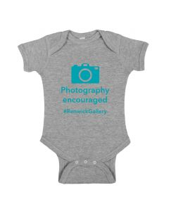 Infant Renwick ''Photography Encouraged'' Onesie